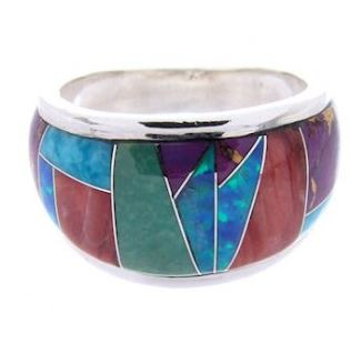 Native American Inlay Jewelry Ring screenshot